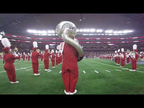 Alabama vs. USC Million Dollar Band Pregame 2016 P.O.V. (60 fps.)