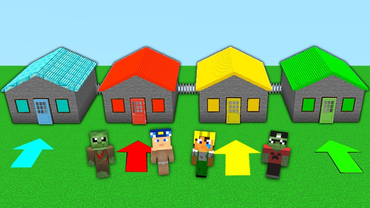 YANLIŞ KORKUNÇ EVİ SEÇERSEN ÖLÜRSÜN #2 😱 - Minecraft