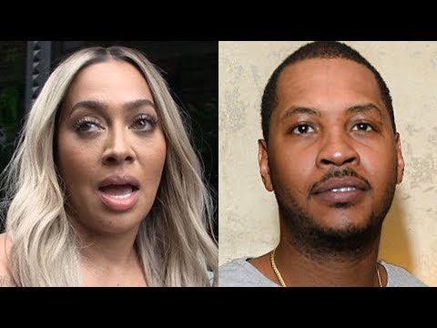 La La Anthony DIVORCED Carmelo Anthony because HE AIN'T GOT NO JOB | BREAKING NEWS