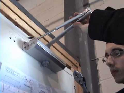 How To Install Door Closer Standard Installation Tell