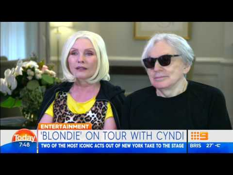 Blondie interview Today Australia April 2017