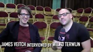 James Veitch interviewed by Wilko Terwijn