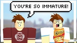 You're So Immature! - ROBLOX Machinima | Sizzlely