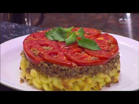 صورة  طريقة عمل البيتزا من مطبخ أسامة | طريقة عمل بيتزا خضروات مقلوبة طريقة عمل البيتزا من يوتيوب