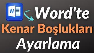 WORD Tez için Kenar Boşlukları Ayarlamak - TEZ ÖNCESİ DÜZENLEME