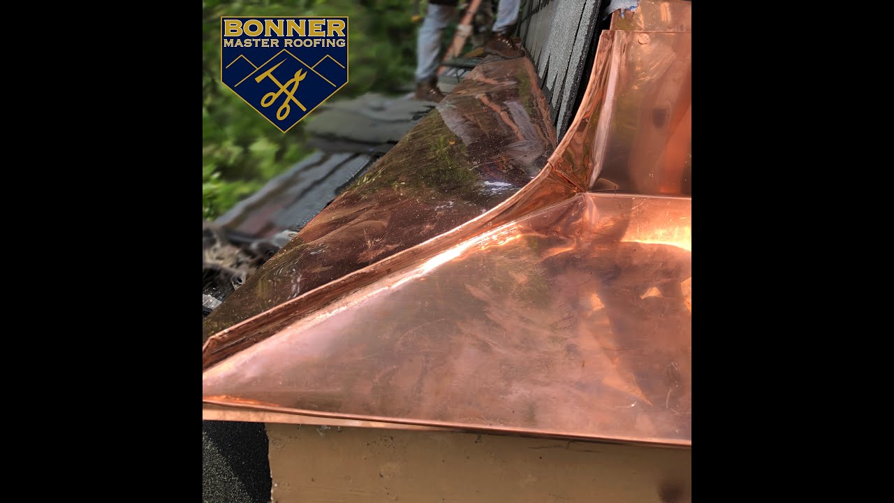 Seamless Copper Pole Gutters