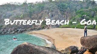 Butterfly Beach Goa (kinda private beach)|Trail ride to Butterfly beach[PART 1(Hubli-Karwar-Goa)]