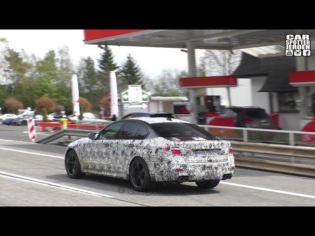 SPYSHOT | 2018 BMW M5 F90 Driving around the Nurburgring