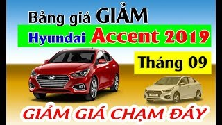 Bảng giá MỚI xe Hyundai Accent tháng 9/2019 lăn bánh chỉ 135tr nhận xe