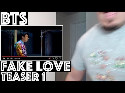 BTS (방탄소년단) FAKE LOVE MV TEASER 1 Reaction