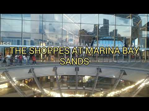 The Shoppes at Marina Bay Sands | Travel in Singapore 2019