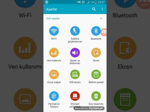 Uygulama Bildirimlerini Kapat Aç Bildirimlere Izin Ver Bildirim çubuğu Samsung  Panel