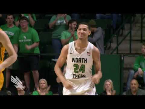 North Texas MBB: U of San Francisco vs NT CBI GM2- NT Highlights 03/28/18