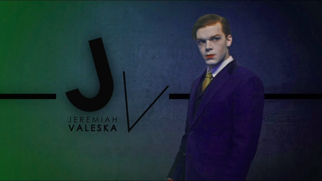 Jeremiah Valeska Youtube Jerome and jeremiah valeska are fictional characters appearing in the fox television series gotham, developed by bruno heller and based upon the batman mythos originating from comic books published by dc comics. jeremiah valeska