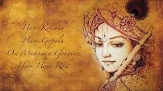 Hare Krishna ~ Om Baba with Kamala