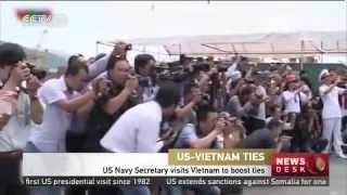 US Navy Secretary visits Vietnam to boost ties