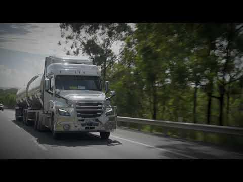 Cascadia In Australia B-Double Fuel Tanker | Freightliner Australia | Cascadia Testing