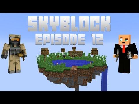 Dansk Minecraft: Finder fiskegrejet frem! [Skyblock #012]