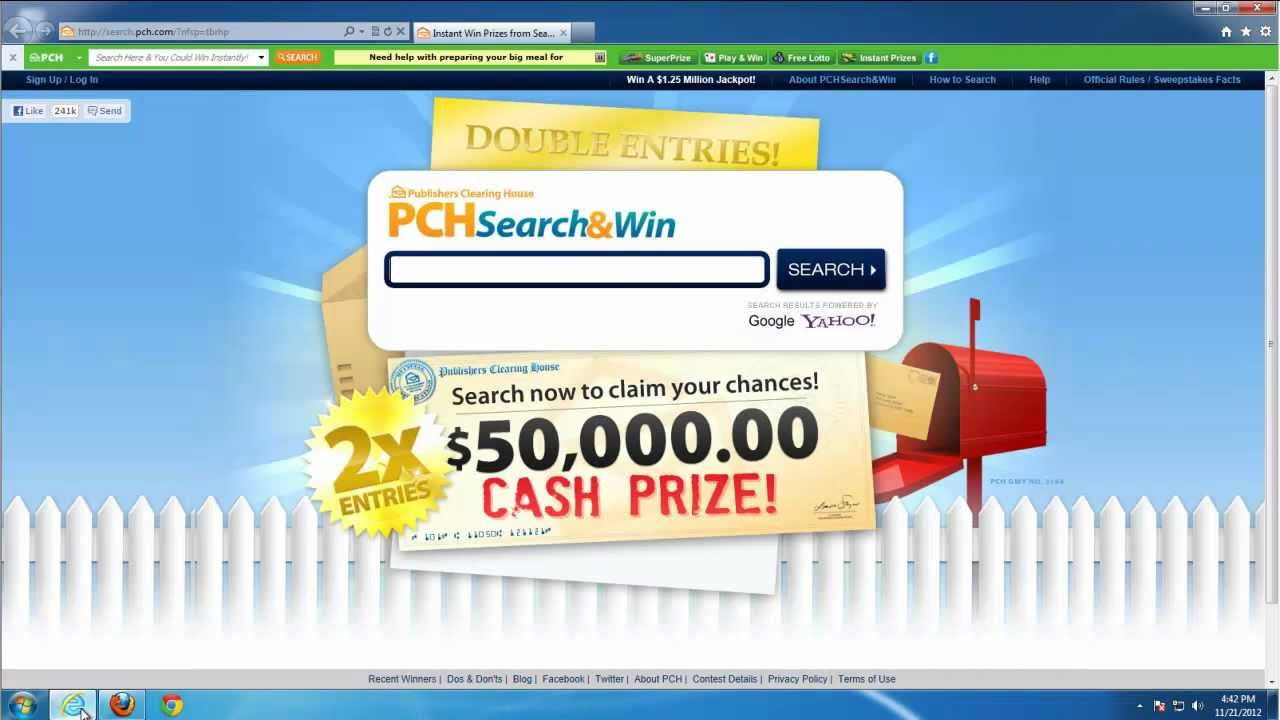 How to uninstall (remove) PCH Prize Bar (pch search, add-on, homepage)