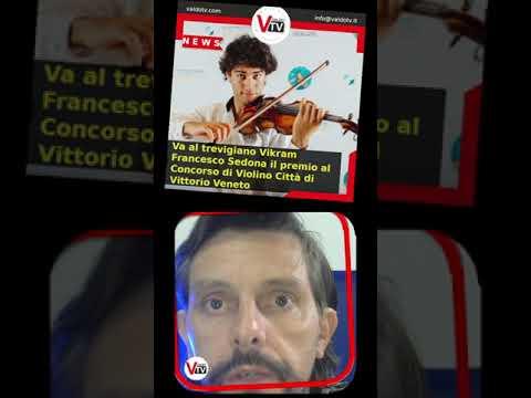 #shorts   Va a Vikram Francesco Sedona il premio del Concorso di Violino Città di Vittorio Veneto