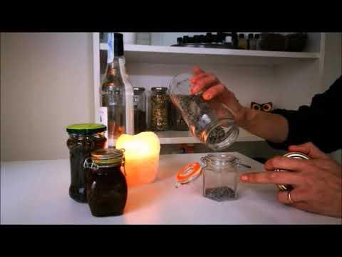 Como Hacer Una TINTURA De Plantas O Alcohol De Hierbas 🌿