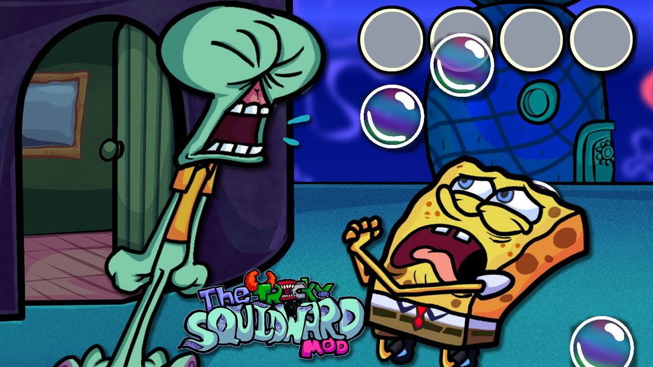 """PghLFilms Meets """"Tricky Squidward"""" in Friday Night Funkin'"""