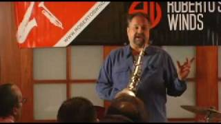 Joe Lovano Master Class – Playing Music I've Recorded