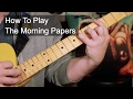 watch he video of How to Play: 'The Morning Papers' Prince Guitar Lesson