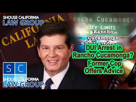DUI arrest in Rancho Cucamonga? Advice from a former cop