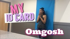 FIRST TIME GETTING MY ID CARD|Adriana Simpson