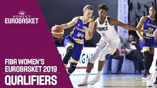 France v Romania - Full Game - FIBA Women