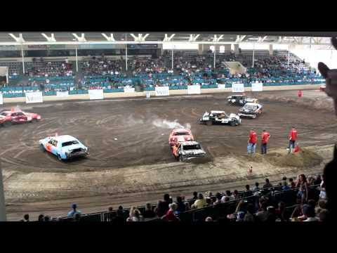 The 2013 Farmers Insurance Fire Expo and Firefighter Demolition Derby