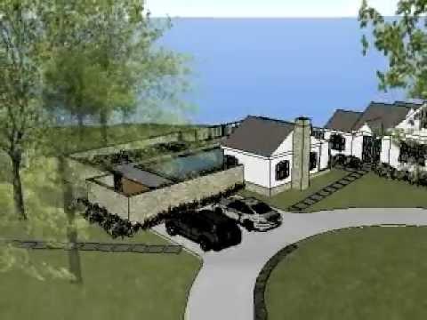 Cape Cod Residence Landscape Model - option 1