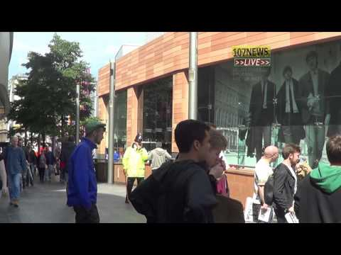 107 News  2014 6 26 Liverpool Rise for Palestine as live coverage