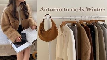 (Haul)가을 초겨울 패션 하울🤍/핸드메이드 자켓 추천, 가을룩북, 핸드메이드코트, 니트추천, 아모멘토, 가을 데일리룩, 숏자켓 코디, Fashion haul,디자이너브랜드하울