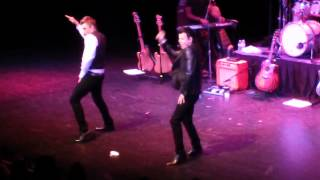 Nick and Knight- Nobody Better & Burning Up- Indianapolis 9-20-14