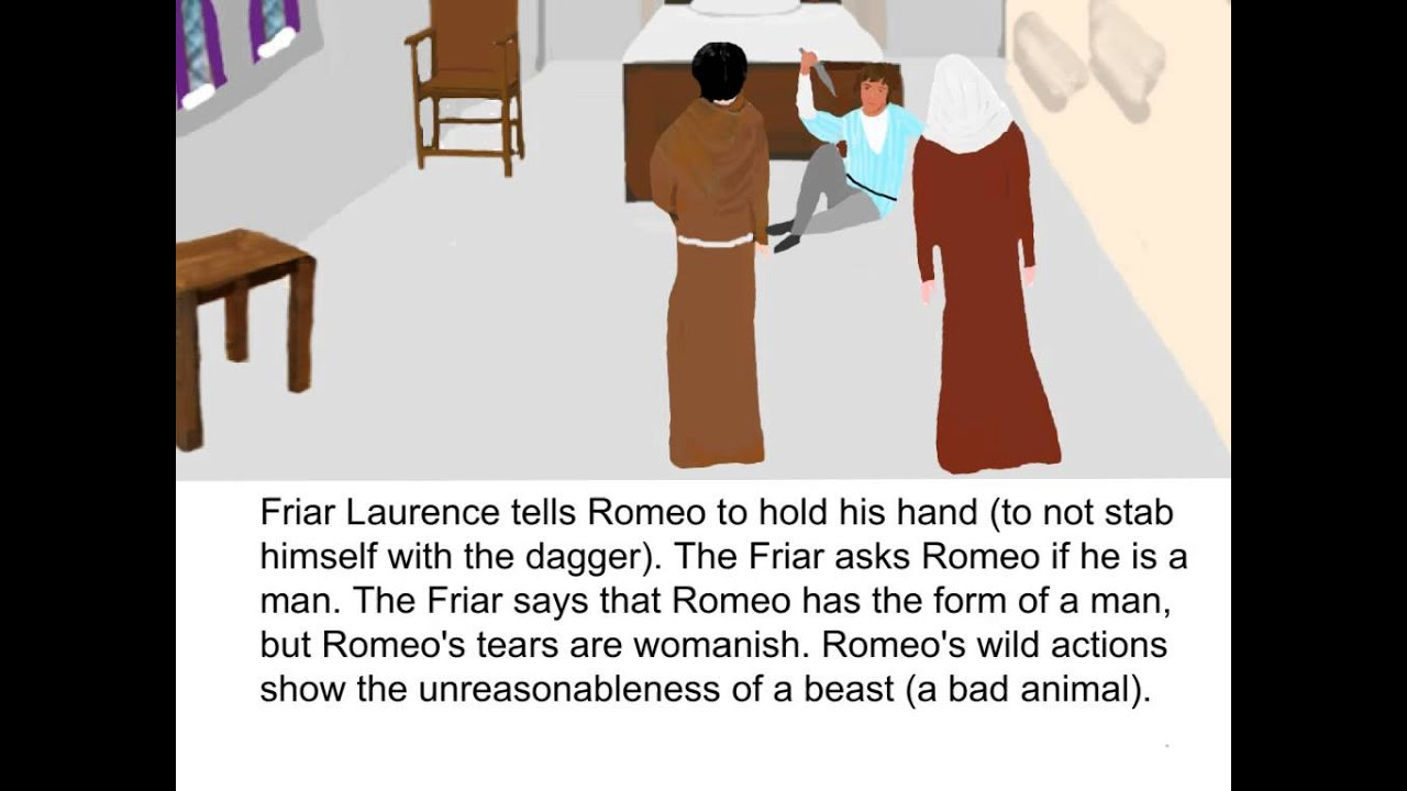 romeo and juliet act scene summary romeo and juliet act 3 scene 3 summary