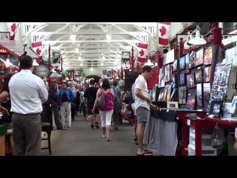 The market of Saint John  (New Brunswick - Canada)