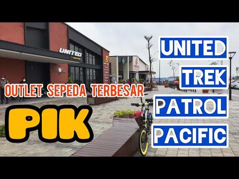 Outlet Sepeda Terbesar, UNITED, TREK, PACIFIC, PATROL