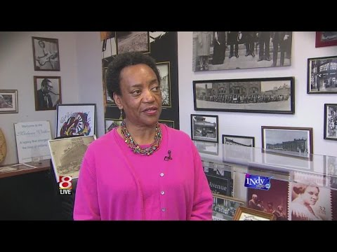 Amy the Face of MyINDY-TV learns about Freetown Village Inc, a living history museum with no walls