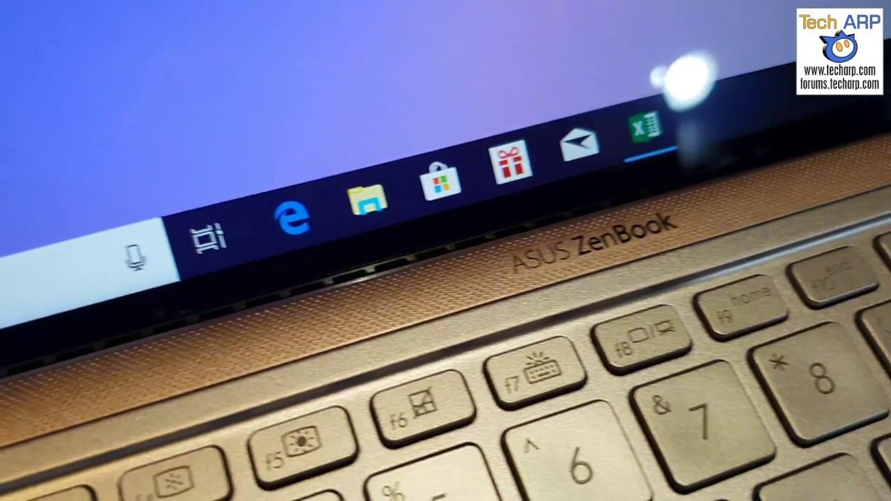 The ASUS ZenBook 14 (UX433) Up Close!