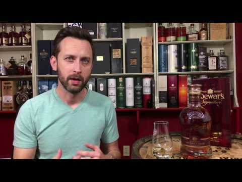 Dewar's Signature Scotch Whisky Review
