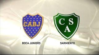 Boca Juniors vs Sarmiento full match