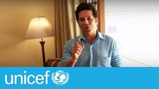 Sachin Tendulkar on why early moments matter I UNICEF