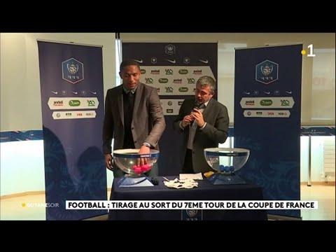 Football : Tirage Au Sort Du 7ème Tour De La Coupe De France