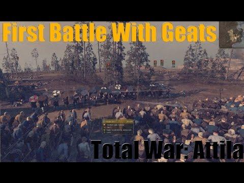 Total war Attila First Battle With Geats  