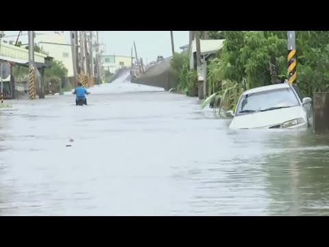 Typhoon Nesat causes destruction in Taiwan