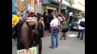 Raw Video (1 of 3): DEA, IRS, & US Marshals raid Oaksterdam/Richard Lee 4/2/2012