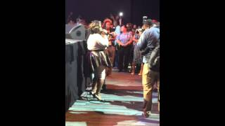 Kim Burrell Mic Toss ft. India Arie, Lalah Hathaway, Chrisette Michele