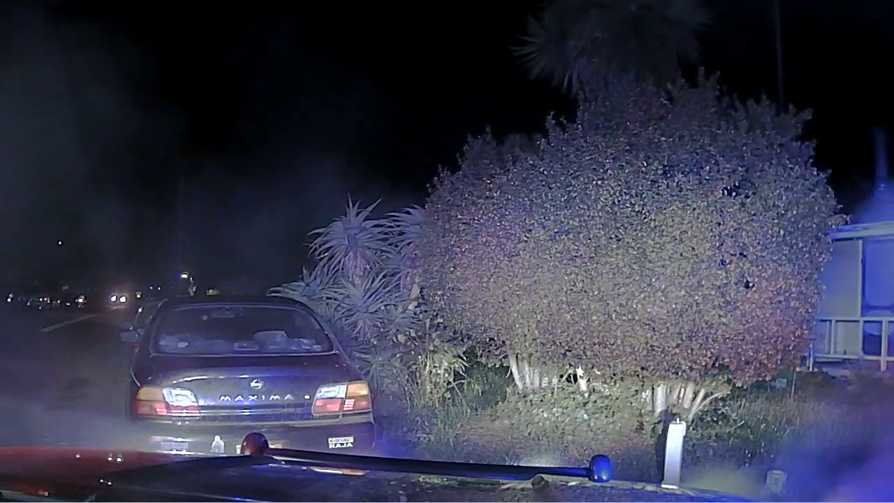 Dash Cam footage Capitola Police
